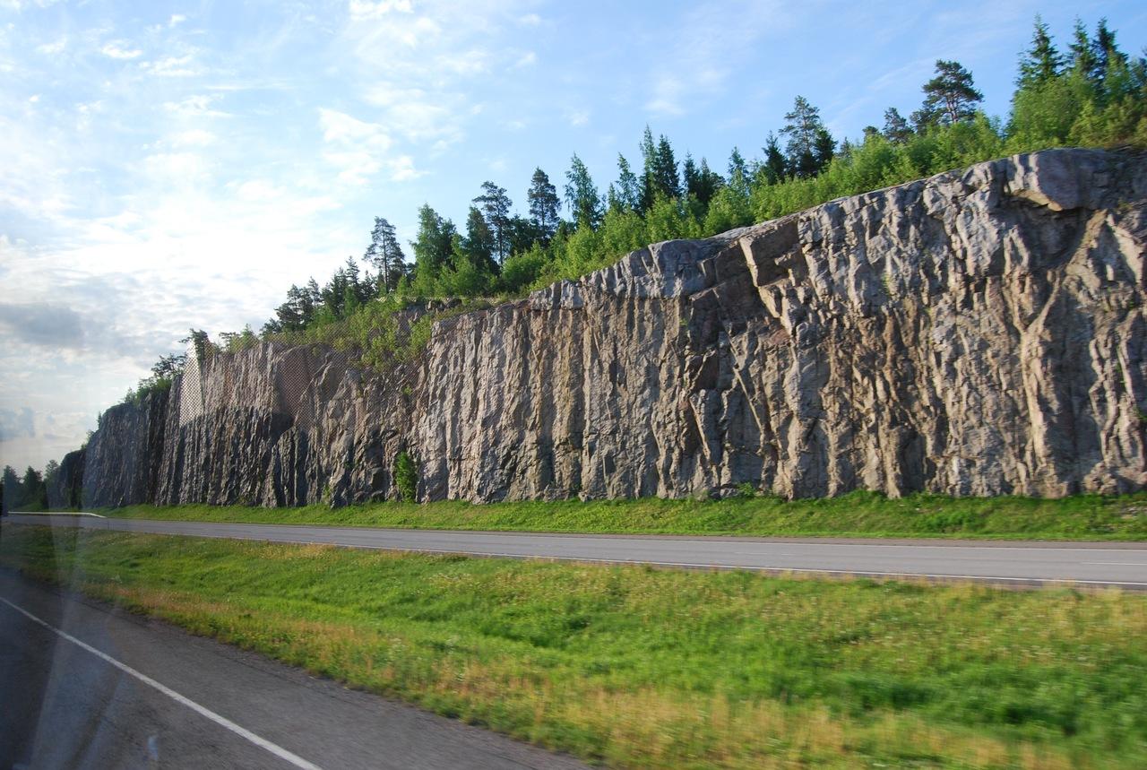 По дороге в Хельсинки