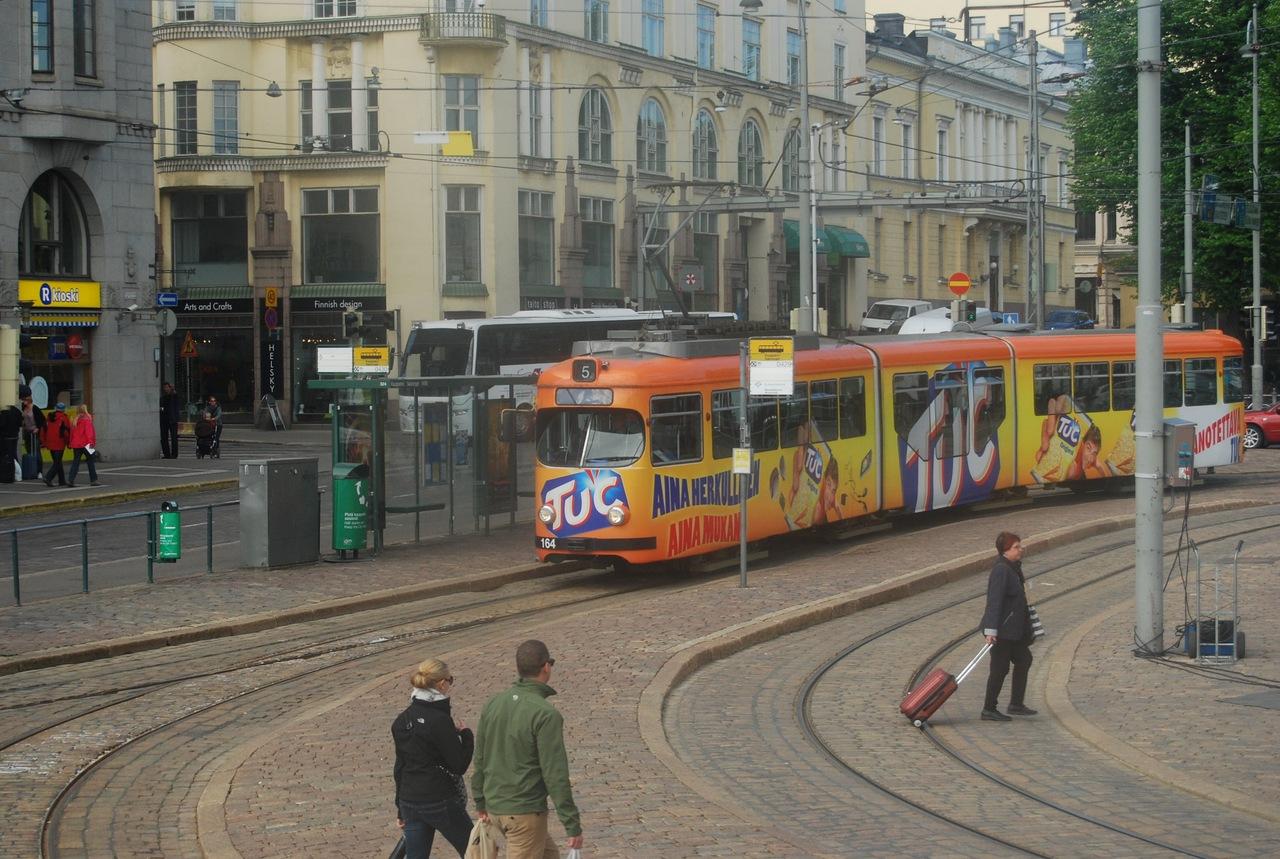 Трамвайчик Хельсинки