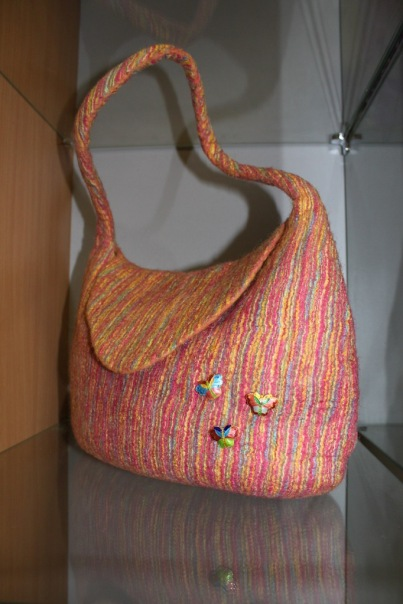 Валяние сумки из шерсти мастер класс ютуб