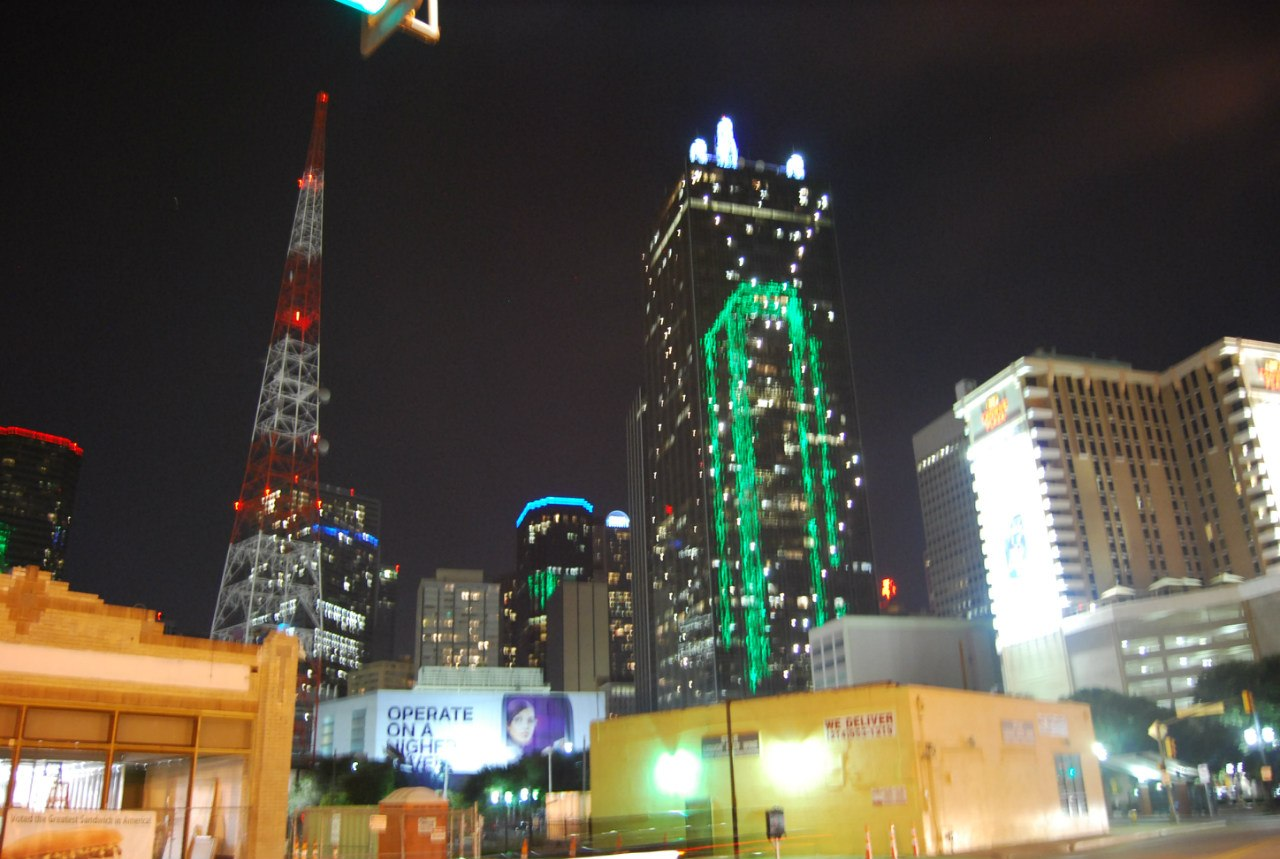 Даллас ночью