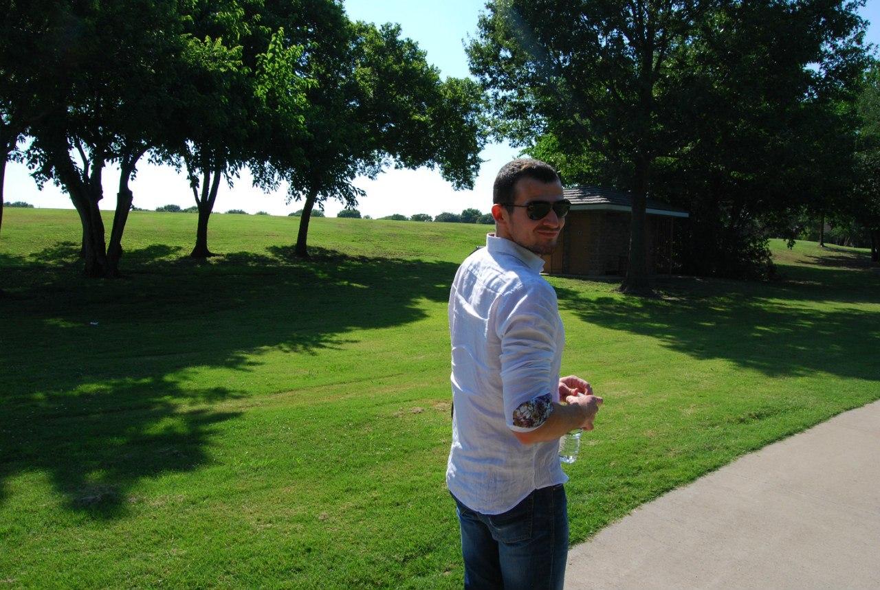 Гуляем в парке Далласа