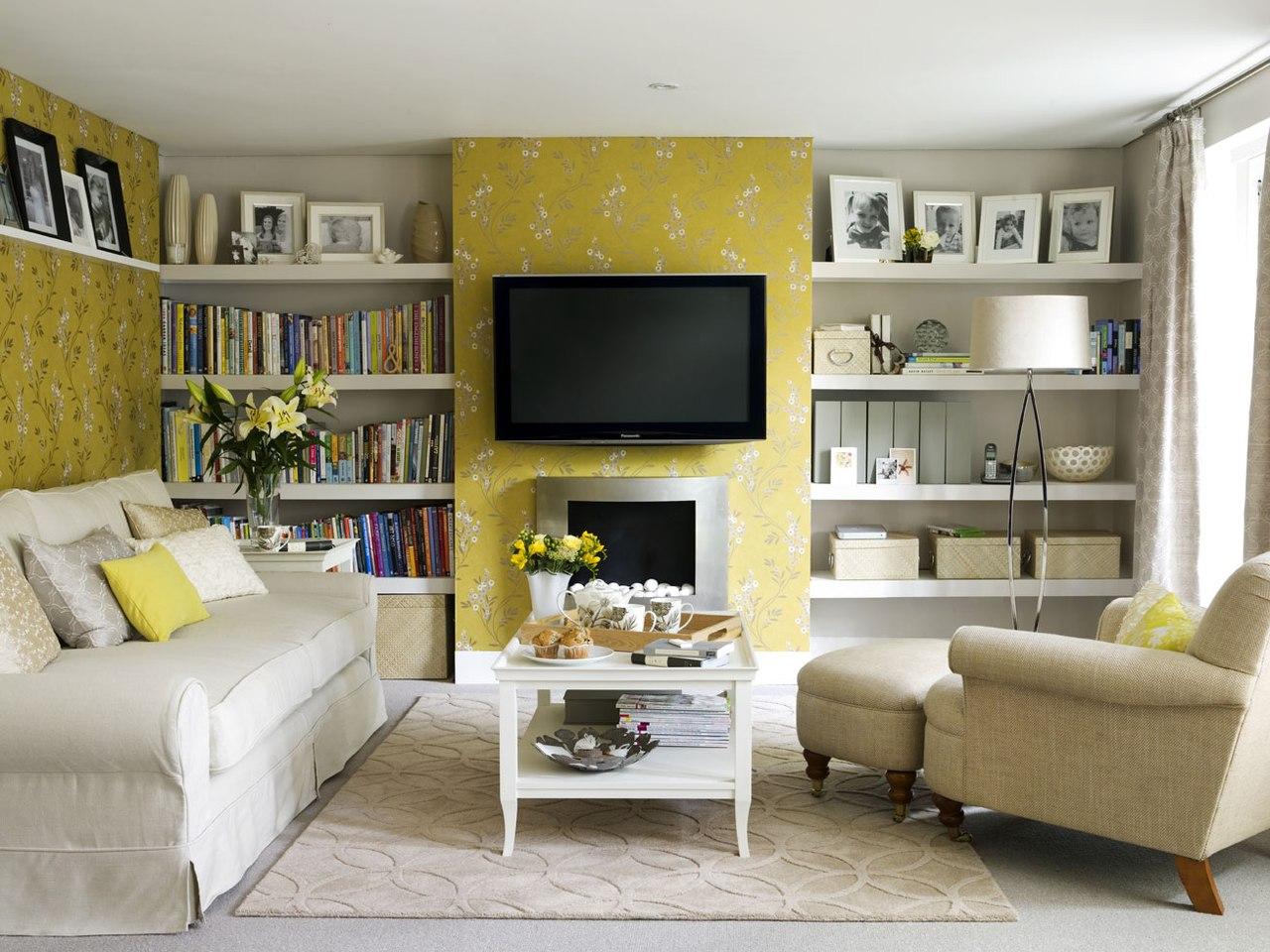 Гостиная фото дизайн простой
