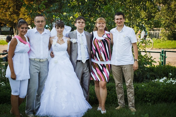 Свадьба Олега. Родня.