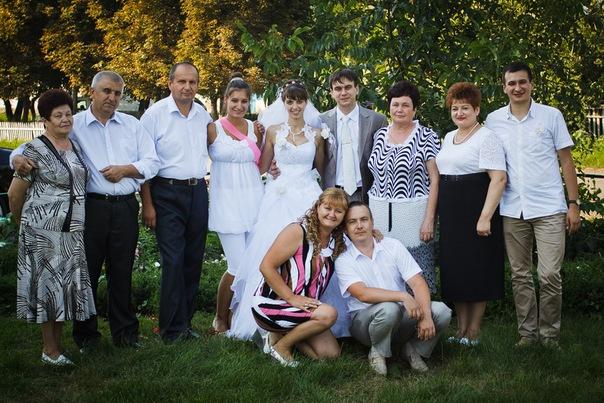 Свадьба Олега. Вся родня.
