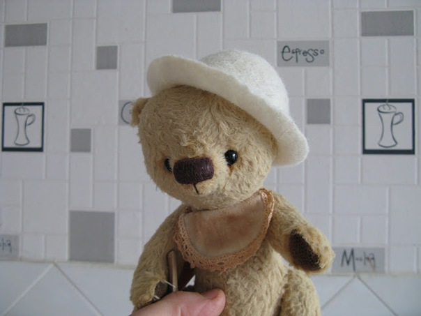 Baby Hat Шапка Мишка Тедди