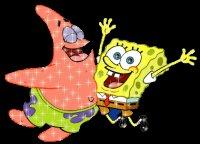 Патрик и Спанч Боб здор.  Анимашки.