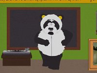 Панда Домогательная