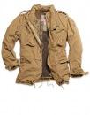 Куртка изготовлена из 100% хлопка, подкладка 67% хлопок 33 % нейлон .