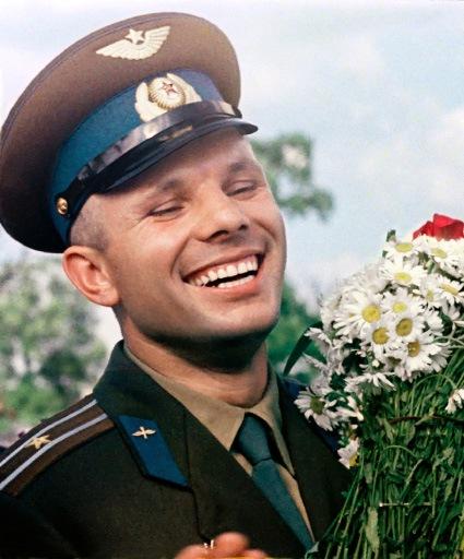 Первый человек в космосе! Юрий Гагарин!