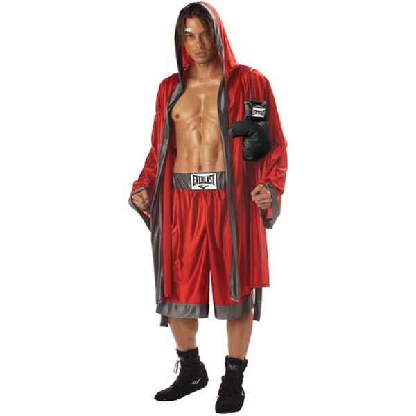 This sexy Everlast Boxer Costume includes Robe with attached Hood and...