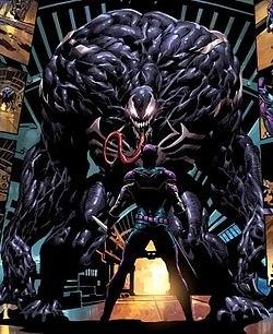 человек паук симбиот