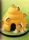 оформление тортов для детей.