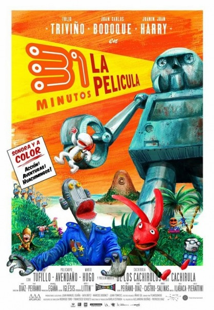 Ver 31 Minutos - La Pelicula (2008) Audio Latino