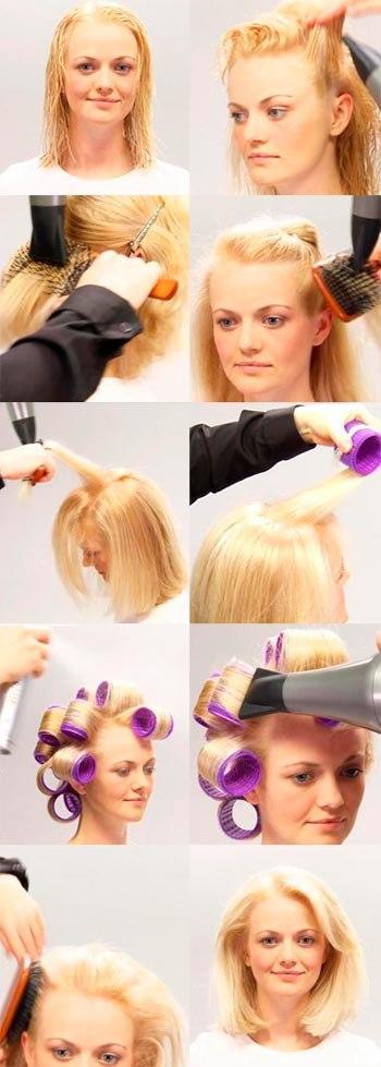 прически для придания объема тонким волосам