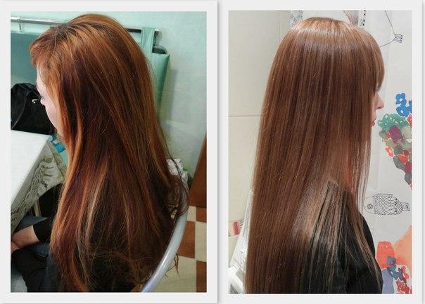 Как осветлить покрашенный темный волос в домашних условиях 731