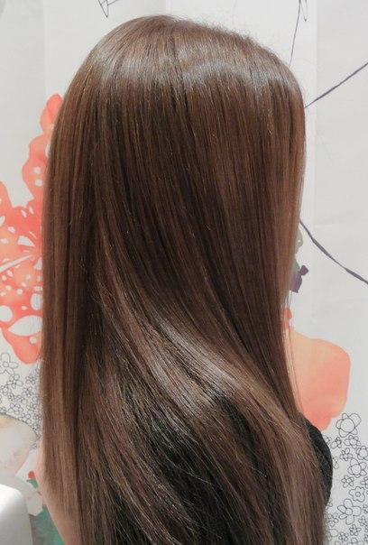 Коричнево темно русый цвет волос