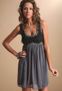 платье из шифона шифоновое платье.