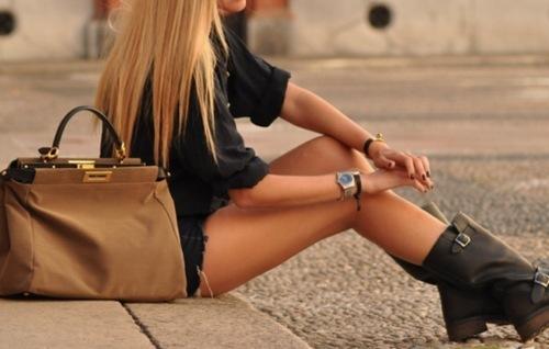 Блондинки модные девушки