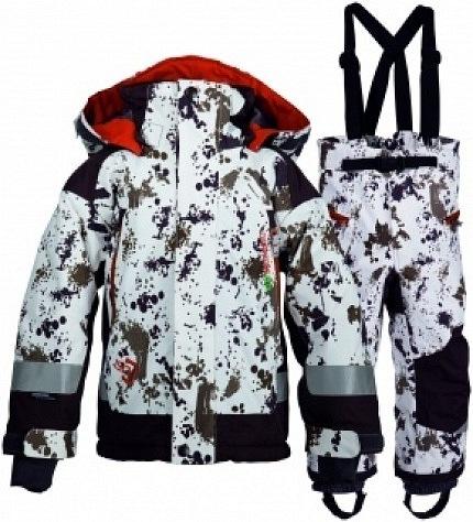 Зимний комплект для мальчика TOBIE PRINTED 503309 - 634 / Didriksons.