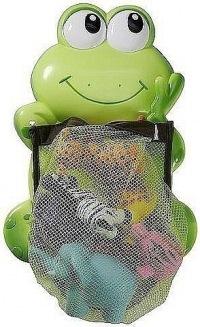 Размеры лягушки...  Лягушка-сумка для игрушек в ванную комнату, новая.