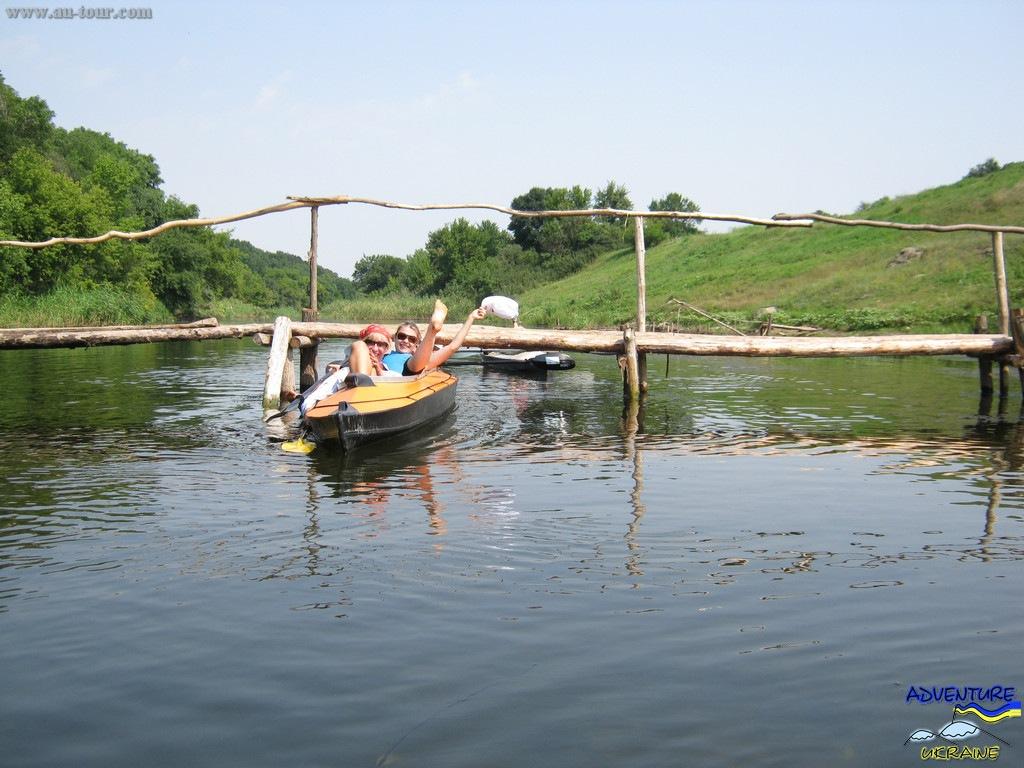 Водный поход по реке Волчья.