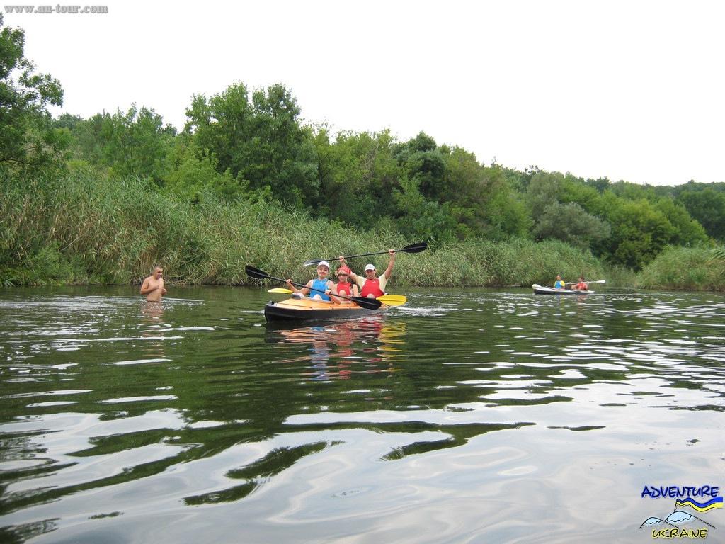 Водный поход по реке Волчья