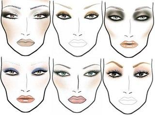Макияж для глаз разных стилей!