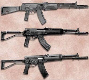 Так, по требованию МО СССР АЕК-971 лишился замысловатого...