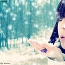 Аватарки Девушки зимой (часть 2) от Оли.