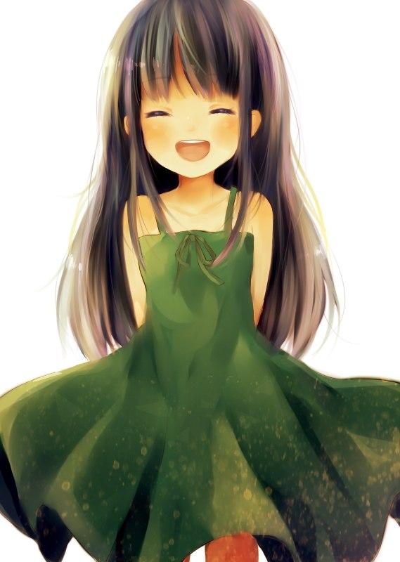 картинки аниме маленькая девочка: