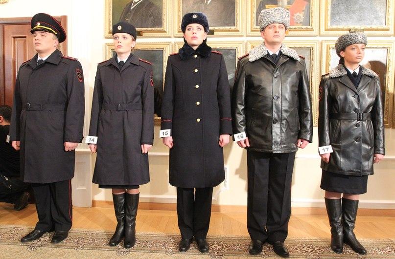 Фото новой зимней женской формы для полицейских