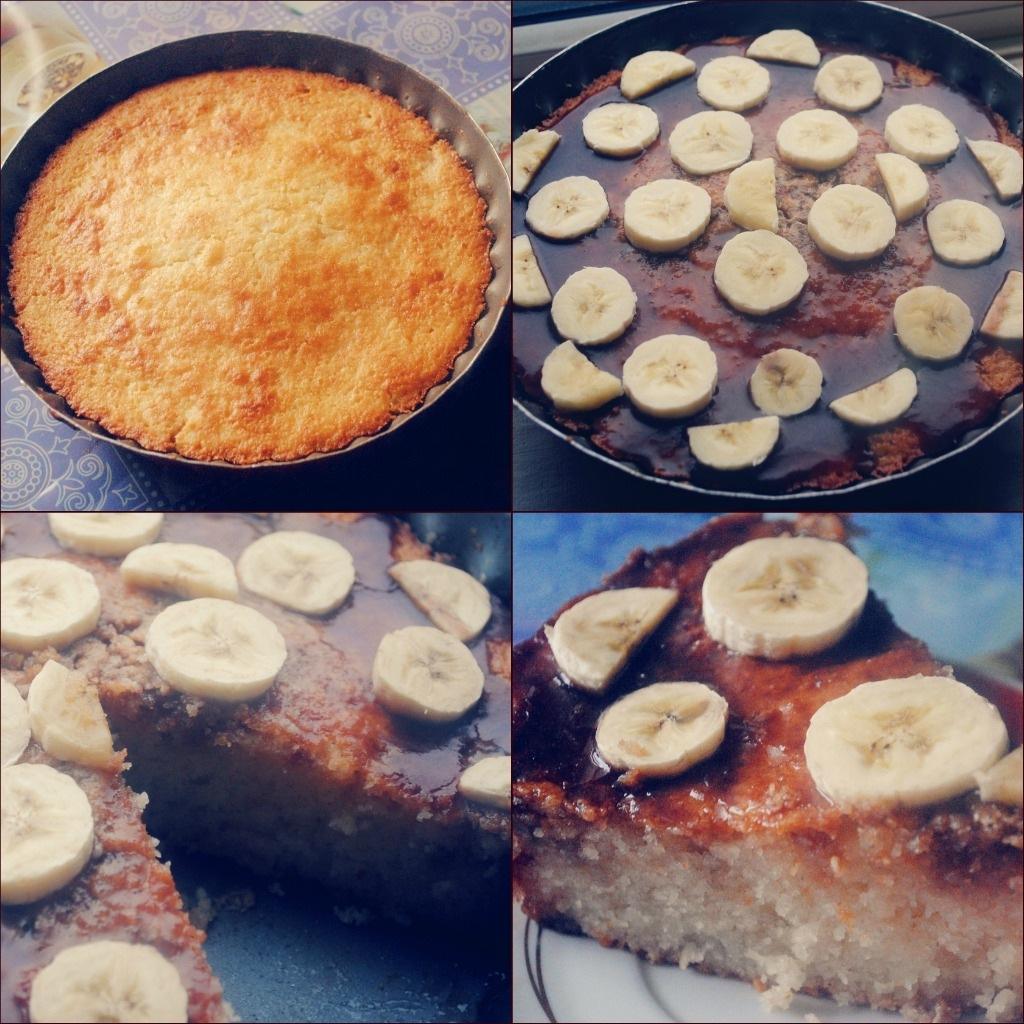 Банановый пирог на кефире в мультиварке рецепты с фото