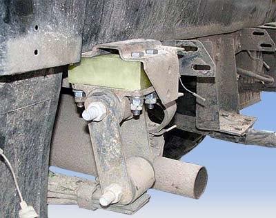 Комплект проставок H20 КПР-02 рессорной подвески УАЗ (ТоргСервис, h20Knp-02-UAZ) .