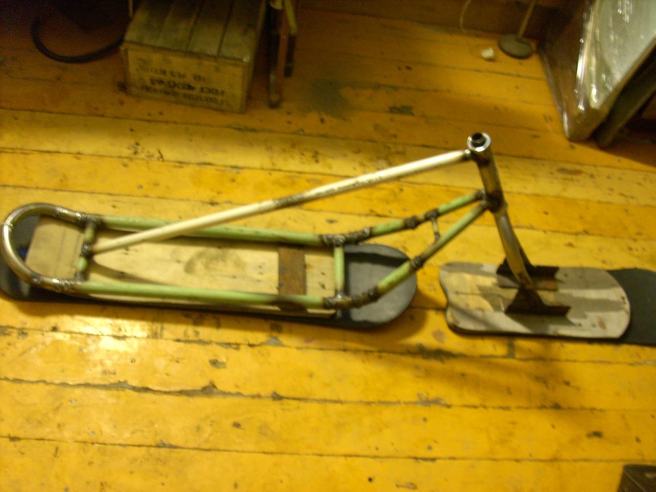 Зимний велосипед своими руками - Полезные самоделки 11