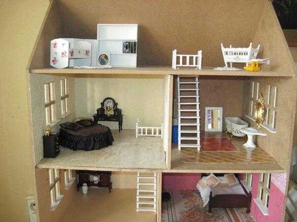 Вся мебель для кукол своими руками фото