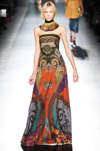 Это современный стиль одежды с использованием элементов национального.