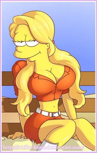 Лиза симпсон секси