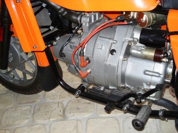 Двигатель мотоцикла Днепр МТ-8.