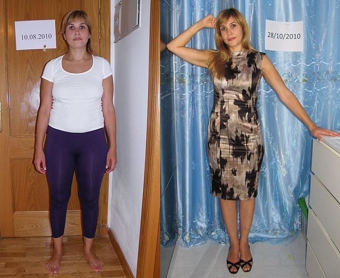Похудение на диете протасова