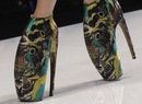 Designer Vs High Street: Alexander McQueens armadillo shoe inspires its...