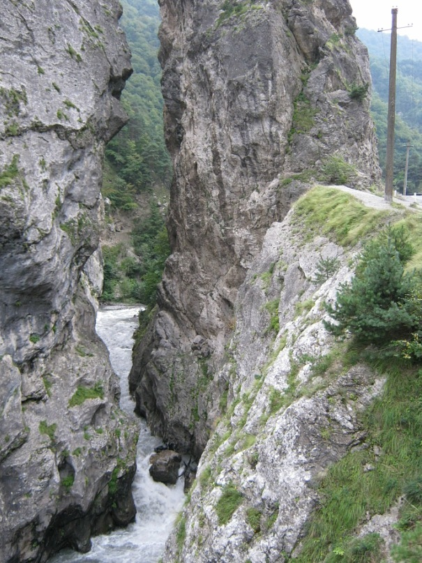 Ущелье вниз от села Дзивгис