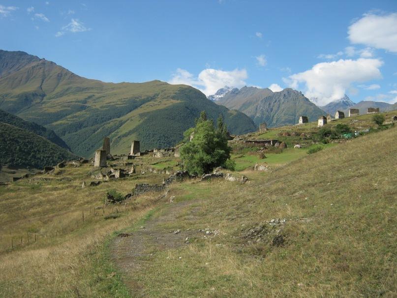 башни и склепы около Верхнего Фиагдона
