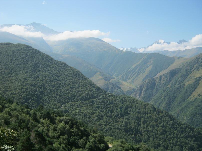 Вид с перевала Згидский