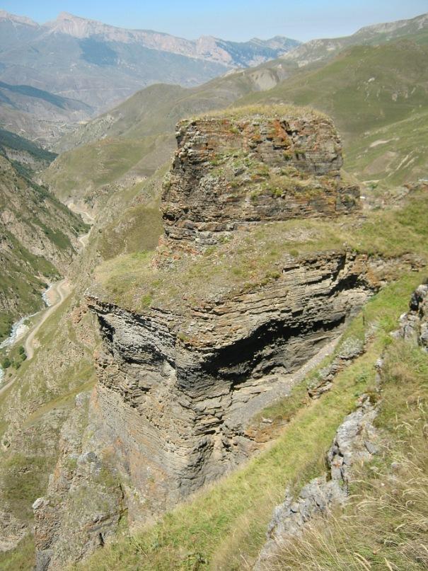 в ущелье Алагирского района