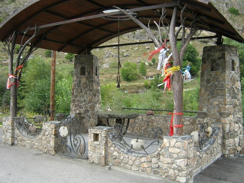 Языческое святилище (Северная Осетия)