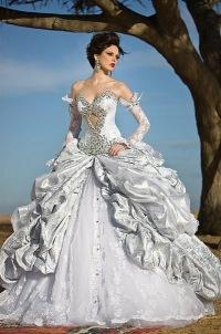 Эксклюзивные платья свадебные фото