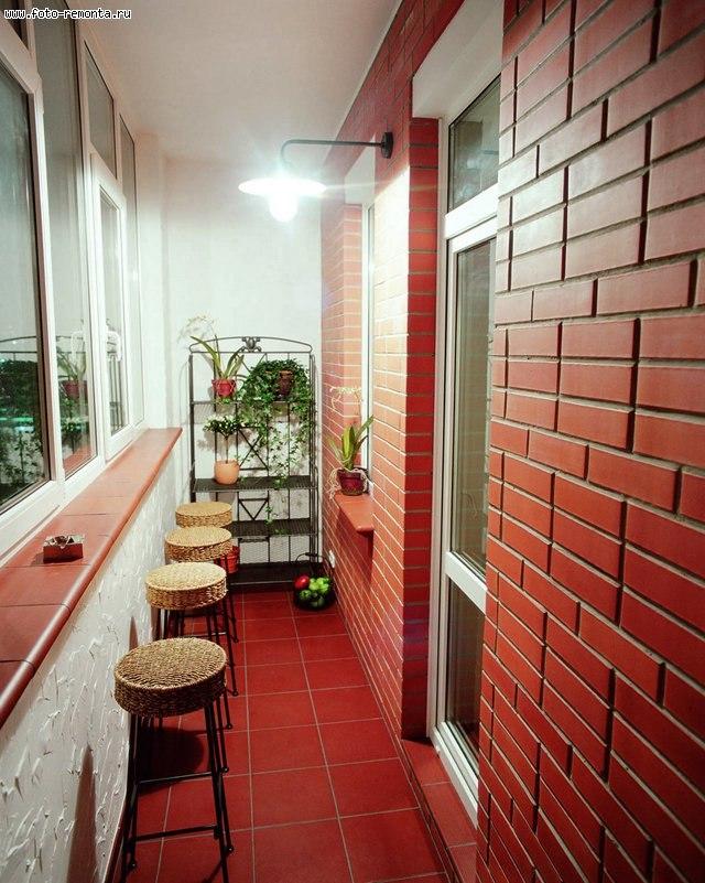 Фото отделка балконов и лоджий дизайн