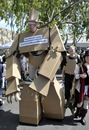Гитара из картонной коробки (поделка для детей картон, бумага.