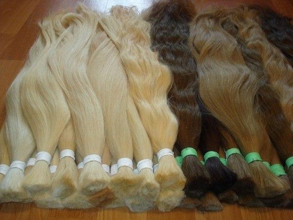 Фотографии Натуральные волосы для наращивания с Украины.