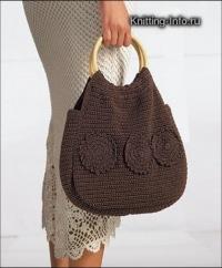 вязание крючком схемы сумок.  Румка, вязанная крючком - всегда.